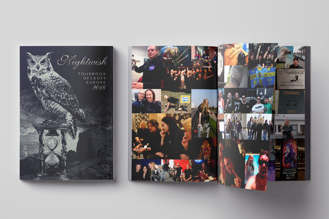 Nightwish Tourbook 2018
